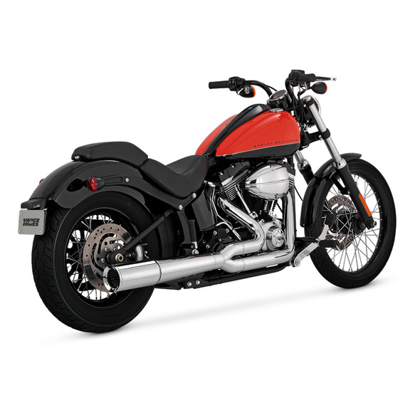Vance & Hines Pro Pipe 2 into 1 Full Exhaust: 12-17 Softail  Models