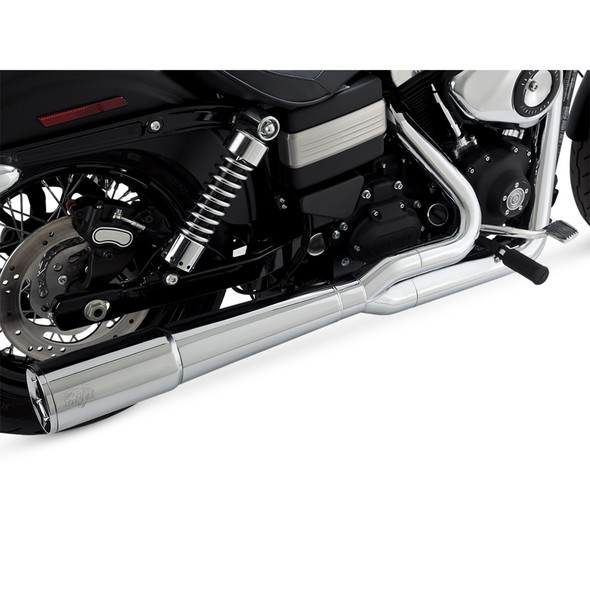 Vance & Hines Pro Pipe 2 into 1 Exhaust - HD 12-17 Dyna