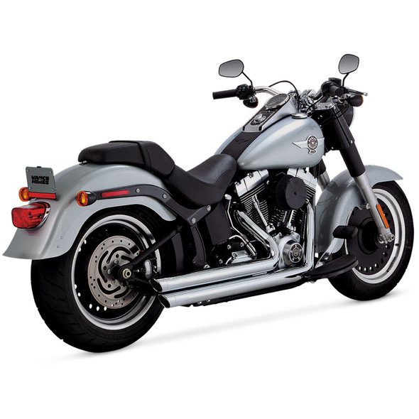Vance & Hines Big Shot Staggered 2:2 Exhaust - HD '86-'17 Softail