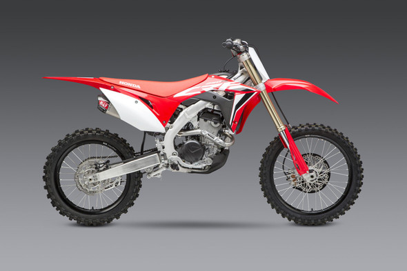 Yoshimura 20 Honda CRF 250R - RS-9T Signature Slip-On Exhaust - SS/SS/CF