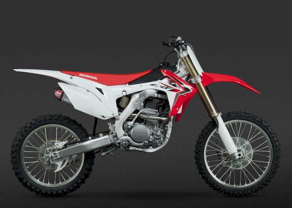 Yoshimura 14-17 Honda CRF 250R - RS-9 Signature Full Exhaust - SS/AL/CF