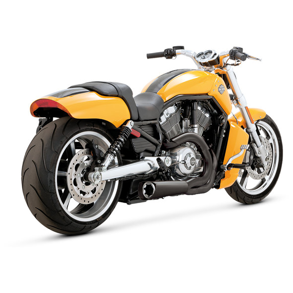 Vance & Hines Competition Series 2-into-1 Full Exhaust: 09-17 V-Rod Muscle