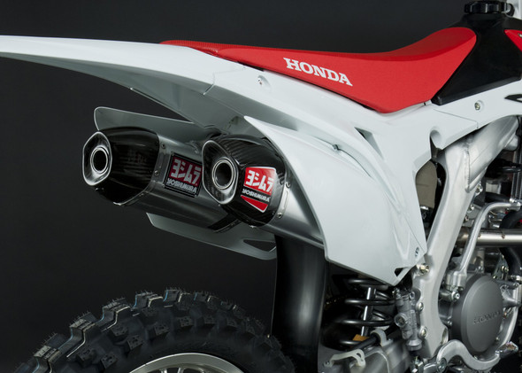 Yoshimura 14-17 Honda CRF 250R - RS-9 Signature Slip-On Exhaust - SS/AL/CF