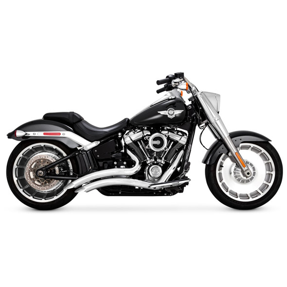 Vance & Hines Big Radius 2-into-2 Full Exhaust: 2018+ Softail Breakout, Fat Boy, FXDR Models