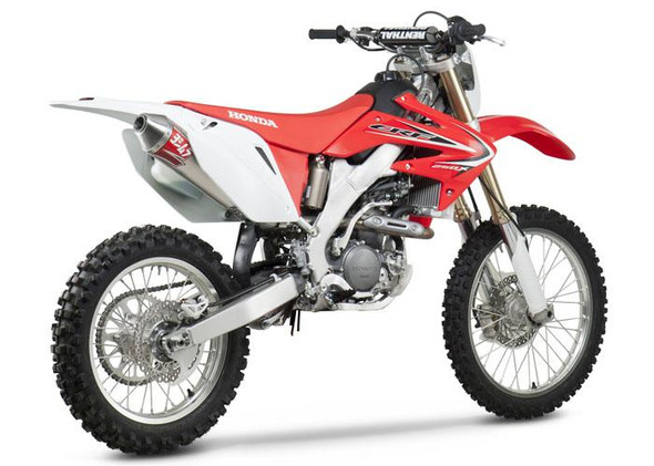 Yoshimura 04-19 Honda CRF 250X / 04-05 CRF250R - RS-2 Enduro Slip-On Exhaust - SS/AL/SS
