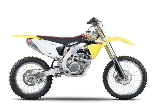Yoshimura 08-17 Suzuki RM-Z 450 / 10-11 RMX 450Z - RS-4 Signature Full Exhaust - SS/AL/CF
