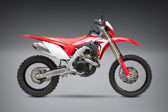 Yoshimura 19 Honda CRF 450X - RS-4 Enduro Slip-On Exhaust - SS/AL/CF