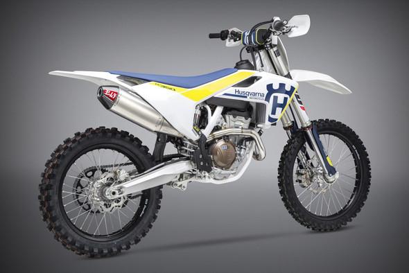 Yoshimura 15-18 KTM 250/350/SX-F/XC-F / 16-18 Husqvarna FC250/350/FX350 - RS-4 Signature Full Exhaust - SS/AL/CF