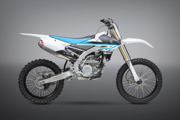 Yoshimura 14-18 Yamaha YZ 250F / 15-18 YZ 250FX/WR 250F - RS-4 Signature Full Exhaust  - SS/AL/CF