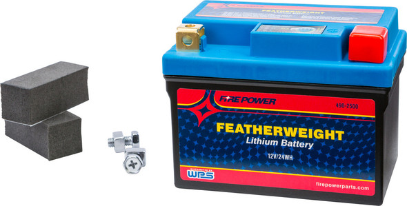 Firepower Featherweight Lithium Batteries