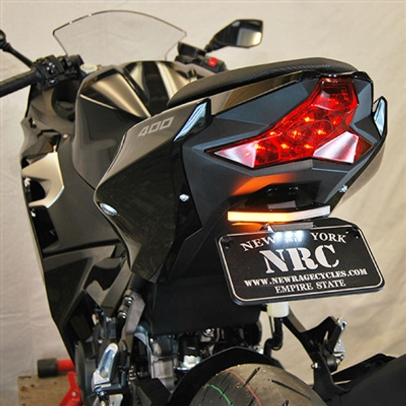 New Rage Cycles LED Fender Eliminator Kit - 18-20 Kawasaki Ninja 400 / Z400