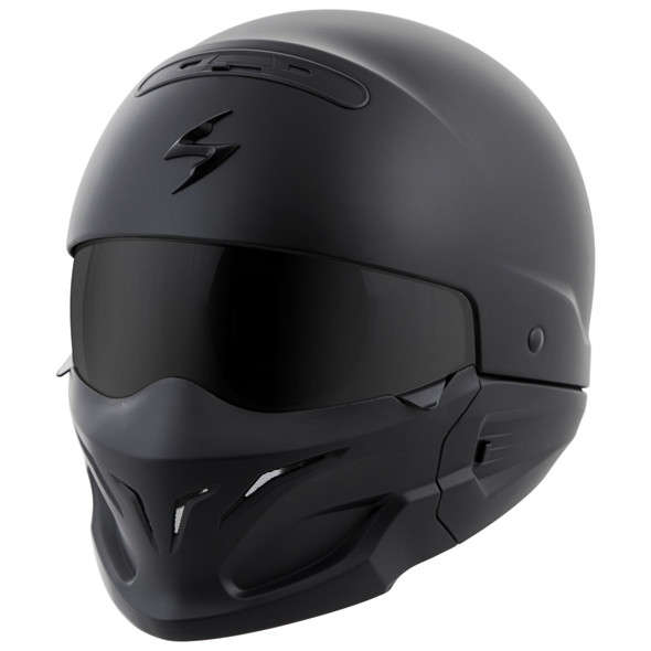 Scopion Covert Helmet - Matte Black
