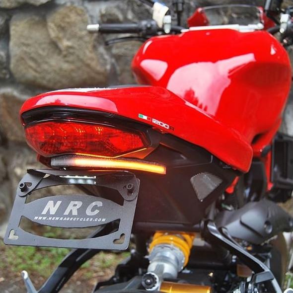 New Rage Cycles LED Fender Eliminator Kit - 16 Ducati Monster 1200 R