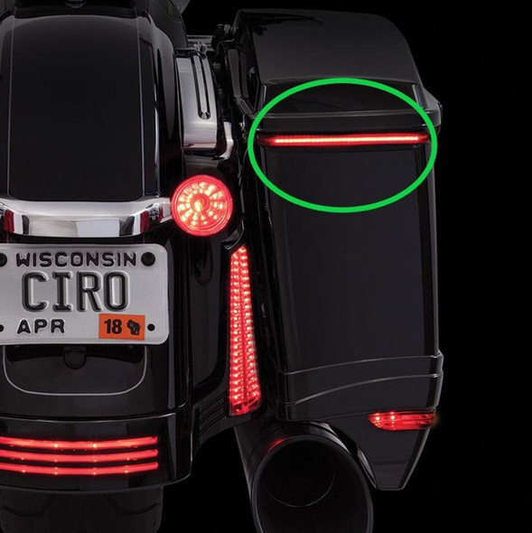 Ciro Bag Blades LED Lights for Harley-Davidson
