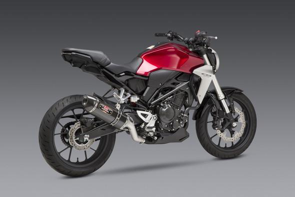 Yoshimura 19-20 Honda CB 300R - R-77 Race Works Slip-On Exhaust