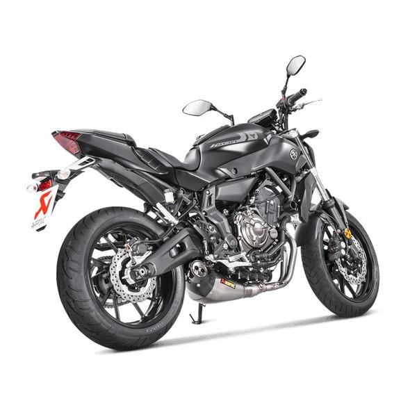 Akrapovic 14-20 Yamaha FZ-07 / MT-07 - Racing Full Exhaust