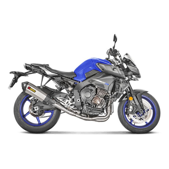 Akrapovic 17-20 Yamaha FZ-10 / MT-10 - Racing Full Exhaust - Titanium/Carbon Canister