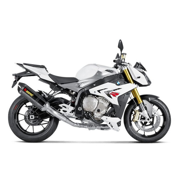 Akrapovic 10-14 BMW S1000R - Racing Full Exhaust - Carbon Canister