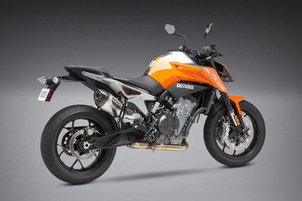 Yoshimura 19 KTM 790 Duke - Alpha T Street Slip-On Exhaust - SS/SS/CF