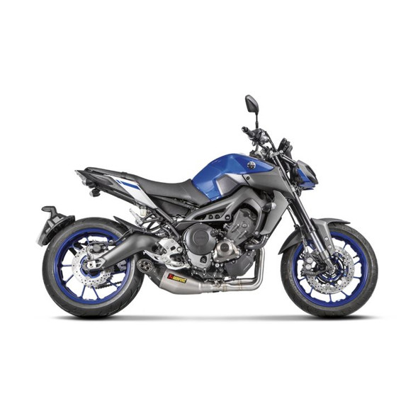 Akrapovic 14-20 Yamaha FZ-09 / MT-09 - Racing Full Exhaust - Titanium/Carbon Canister