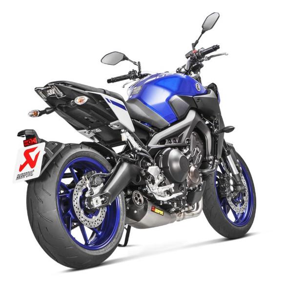 Akrapovic 14-20 Yamaha FZ-09 / MT-09 - Racing Full Exhaust - Titanium/Carbon Canister