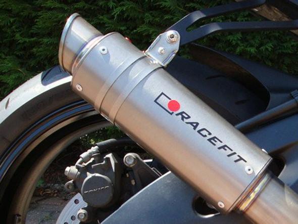 Racefit 08-10 Suzuki GSXR-600/750 Growler Slip-On Exhaust