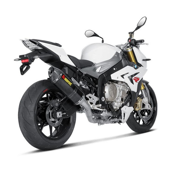 Akrapovic 14-16 BMW S1000R - Racing Full Exhaust - Carbon Canister