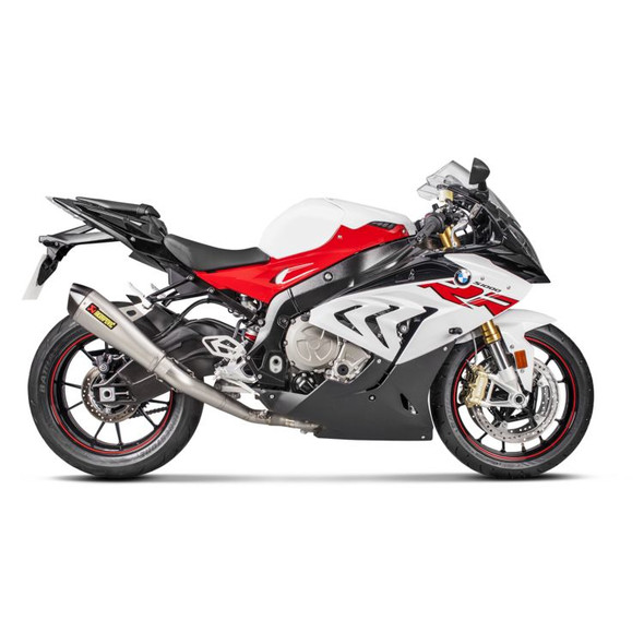 Akrapovic 15-19 BMW S1000RR - Racing Full Exhaust - Titanium/Carbon Canister