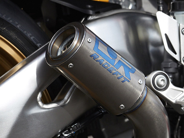 Racefit 17-19 Yamaha R6 Low Level Slip-On Exhaust