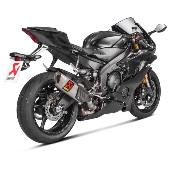 Akrapovic 17-20 Yamaha R6 - GP Slip-On Exhaust - Titanium Canister