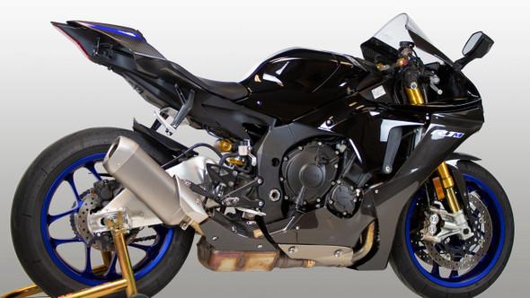 M4 15-20 Yamaha R1 Carbon Fiber Heat Shield