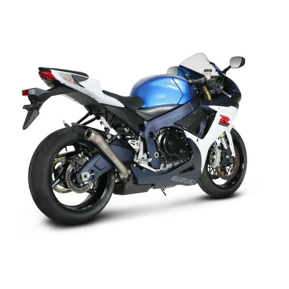 Akrapovic 11-20 Suzuki GSX-R 600/750 - Megaphone Slip-On Exhaust - Titanium