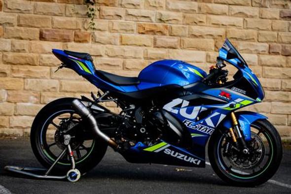 Racefit 17-19 Suzuki GSXR-1000 GrowlerX/GP Slip-On Exhaust