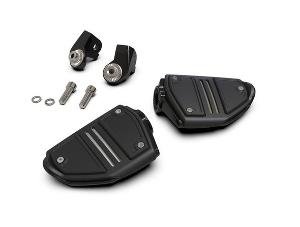 Goldstrike Twin Rail Footrests with Driver Adapter