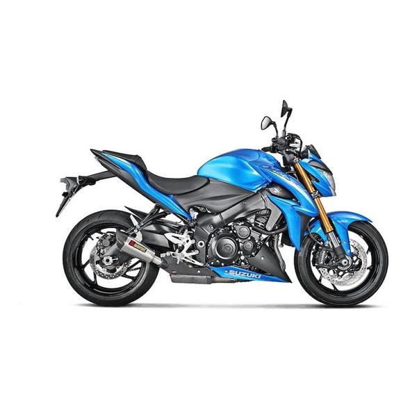 Akrapovic 16-20 Suzuki GSX-S 1000/F - Slip-On Exhaust -Titanium/Carbon Canister
