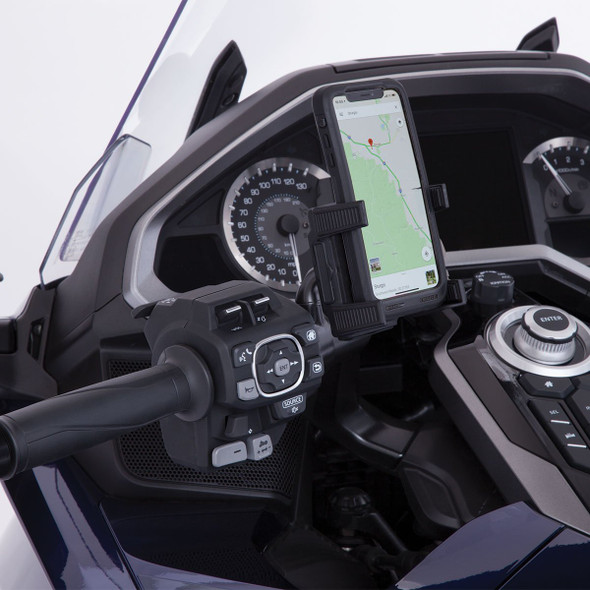 Goldstrike Smartphone Holder w/ Black Left Side Accessory Mount