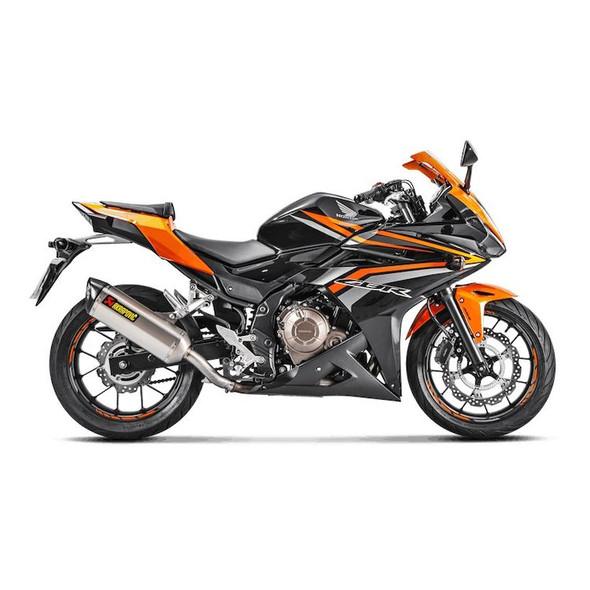 Akrapovic 16-18 Honda CBR 500R / CB500F/X - Slip-On Exhaust