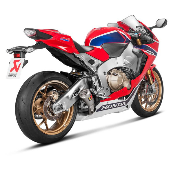 Akrapovic 17-19 Honda CBR1000RR/SP/SP2 - GP Slip-On Exhaust - Titanium Canister