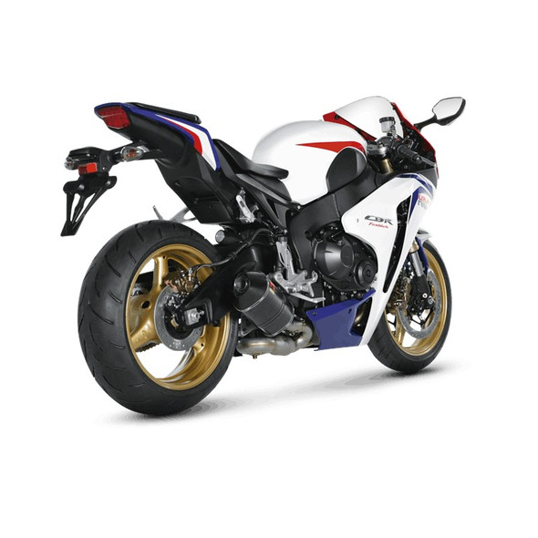 Akrapovic 08-16 CBR 1000RR/RR ABS - Slip-On Exhaust System - Carbon Canister