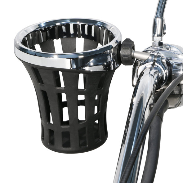 "Ciro Big Ass Drink Holder w/ 7/8"" & 1"" or 1-1/4"" Aluminum Clamp Mount"