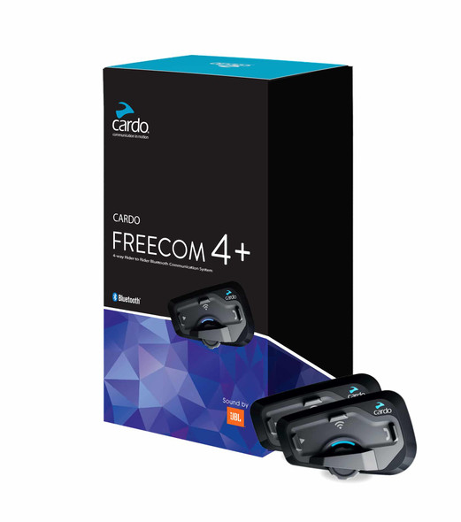 Cardo Freecom 4 Plus JBL Headset Dual Pack