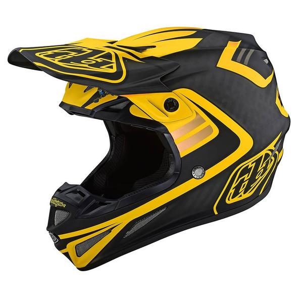 Troy Lee Designs SE4 Carbon Helmet - Flash
