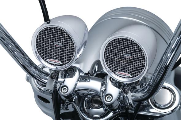 Kuryakyn Road Thunder Speaker Pods & Bluetooth Audio Controller by MTX