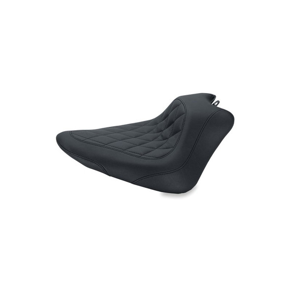 Mustang Wide Tripper Solo Seat - 12-17 FLS Softail Slim / 11-13 FXS Softail Blackline