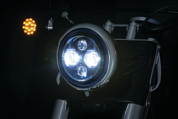 "Kuryakyn Orbit 7"" LED Headlight"