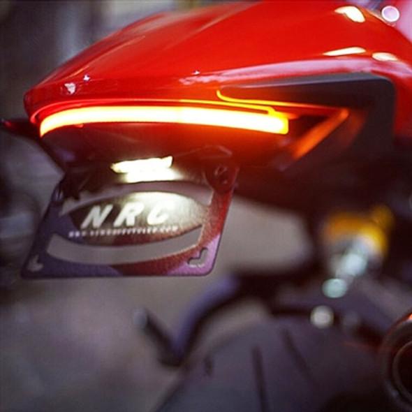 New Rage Cycles LED Fender Eliminator Kit - 15-17 Ducati Monster 821