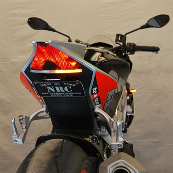 New Rage Cycles LED Fender Eliminator Kit - 15-19 Aprilia Tuono V4