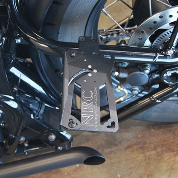 New Rage Cycles 2 Position Side Mount LED Fender Eliminator Bracket - 16-18 Triumph Bobber