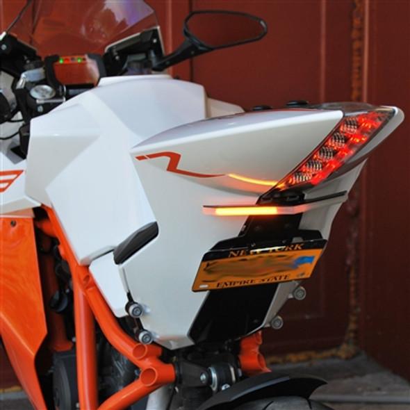New Rage Cycles LED Fender Eliminator Kit - 08-13 KTM RC8 / 10-15 RC8R