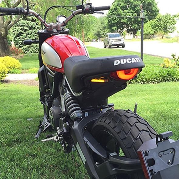 New Rage Cycles LED Fender Eliminator Kit - 15-16 Ducati Scrambler 800